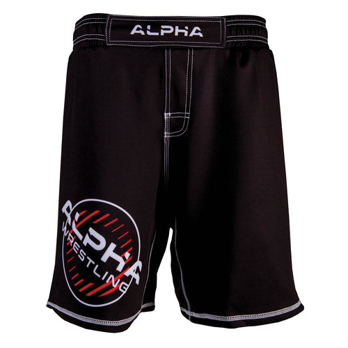 Alpha Wrestling Shorts - Black