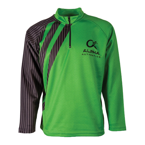 Alpha Quarter Zip Jacket - Green (Fusion)