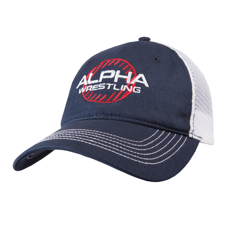 Alpha Wrestling Hat - Navy