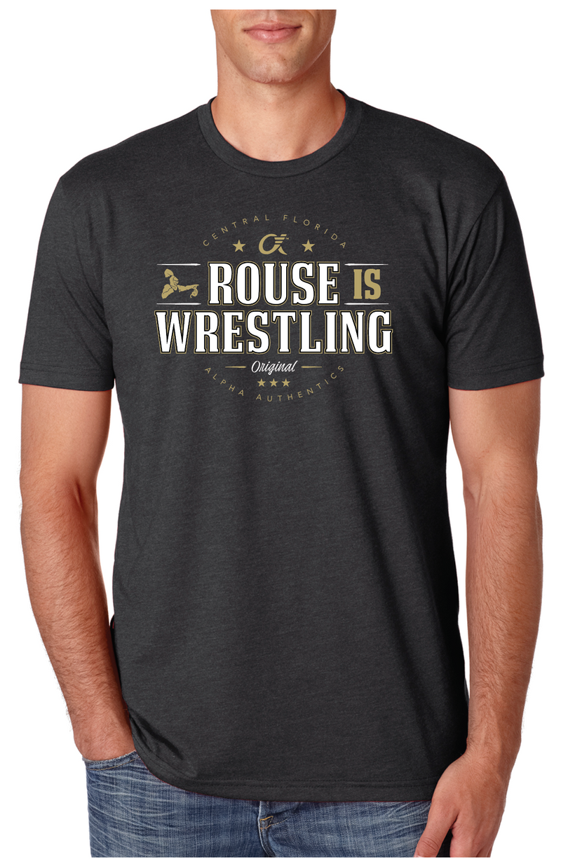 Rouse is Wrestling - Signature UCF T-Shirt