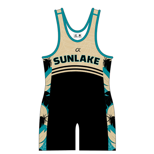 Sunlake Singlet (gold) - Ladies
