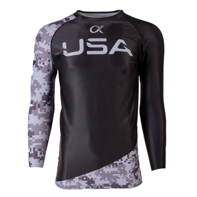 Alpha Long Sleeve Compression T-Shirt (OORAH!)