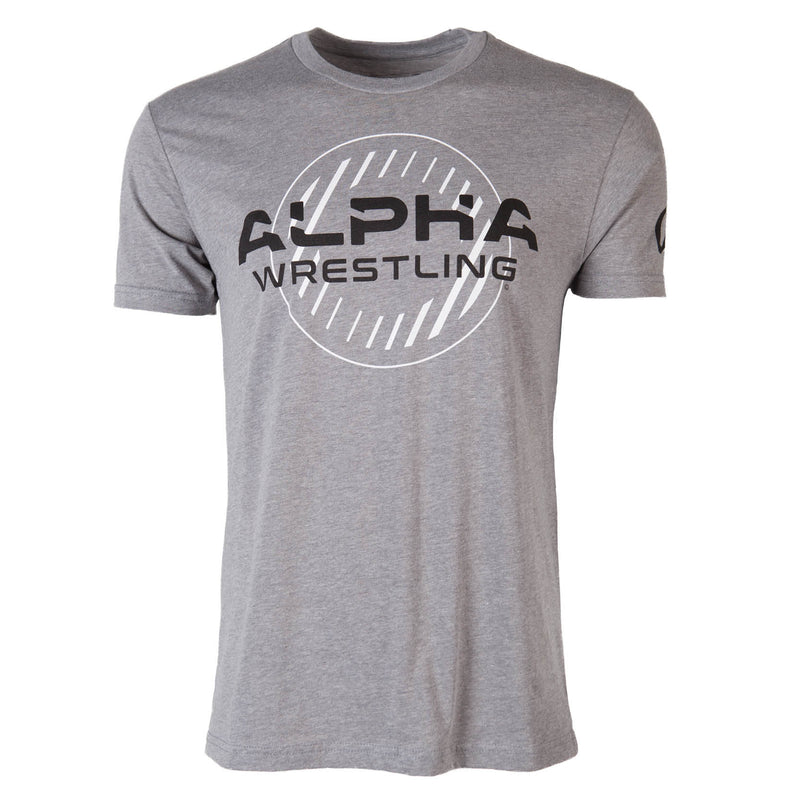 Alpha Wrestling T-Shirt - Grey