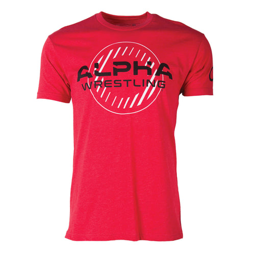 Alpha Wrestling T-Shirt - Red