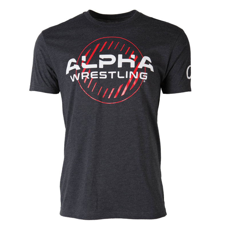 Alpha Wrestling T-Shirt - Charcoal
