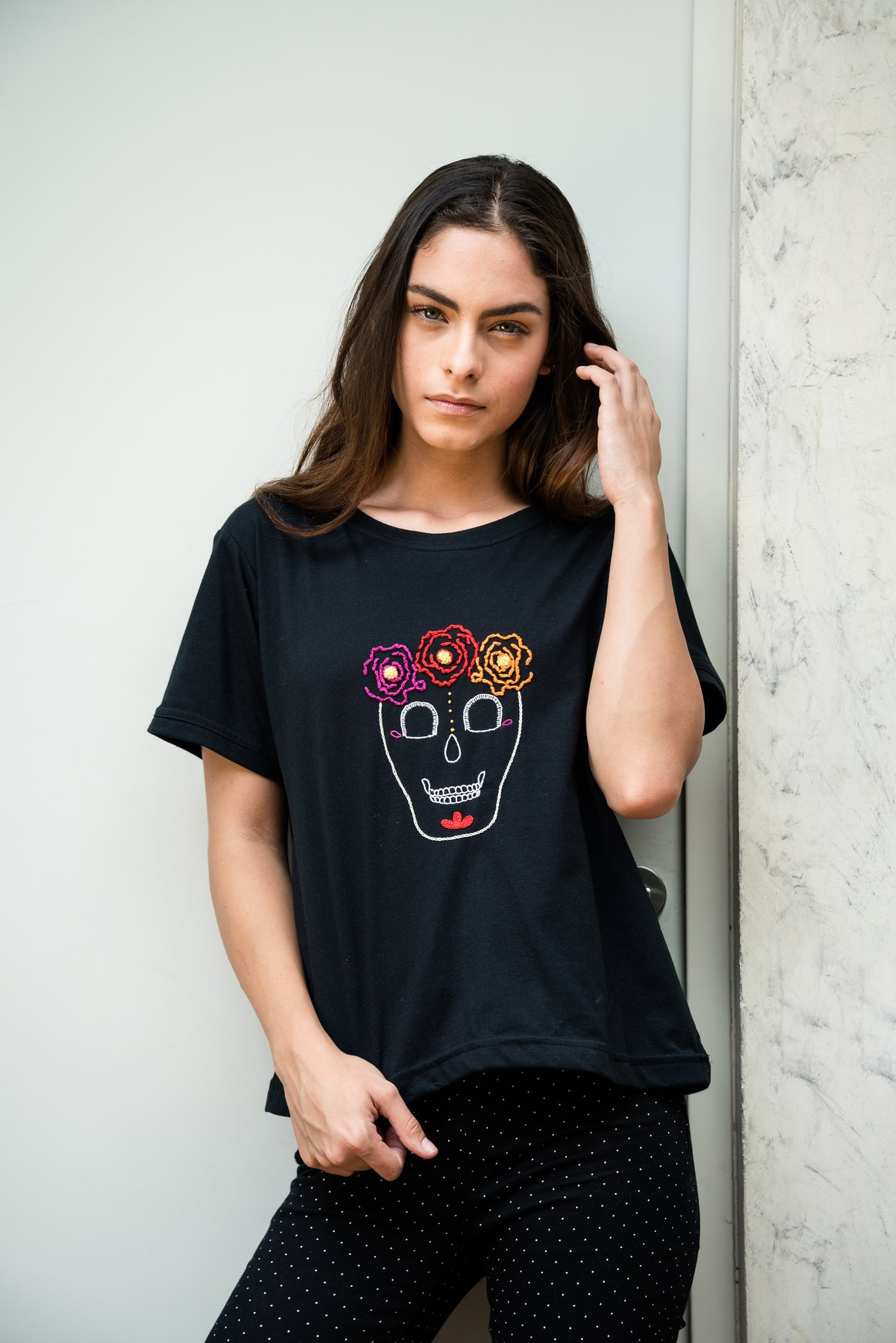 T-shirt Frida Calaca