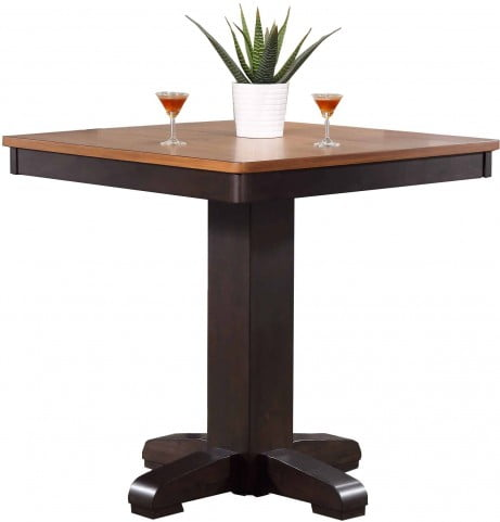 Choices Complete Pub Table, Black Oak