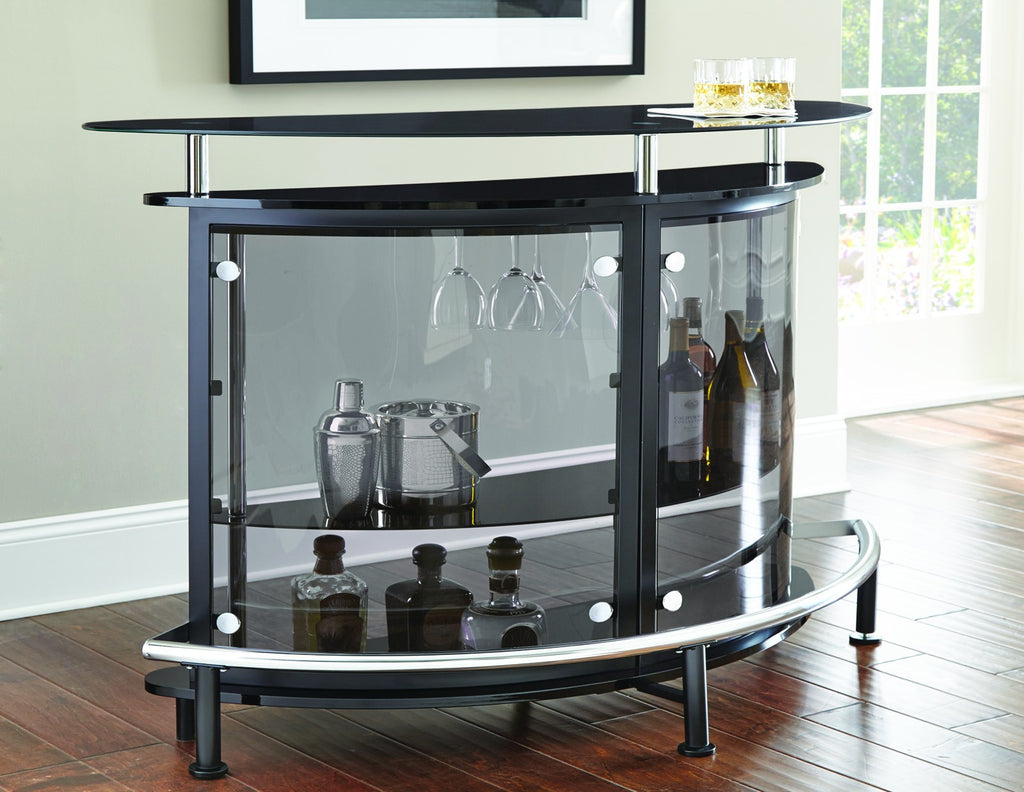 Steve Silver Ariana Bar Table Front View - Perfect Home Bars