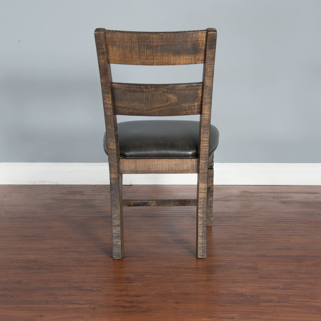 "Sunny Designs Homestead Ladder-back Bar Stool - 24"" Seat Height"