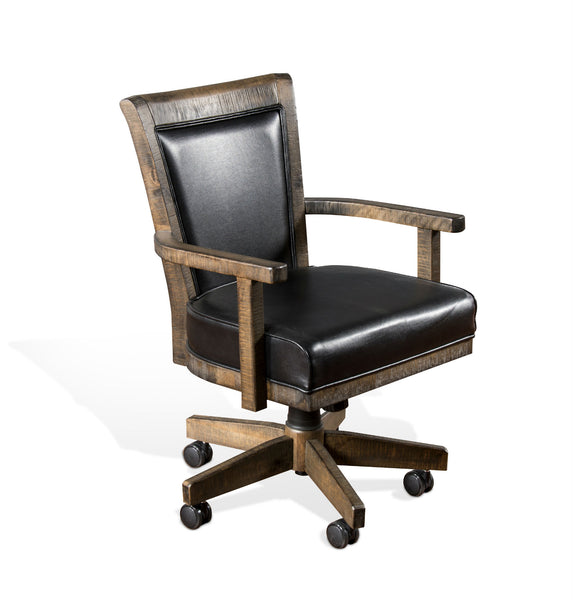 Sunny Designs Tobacco Leaf Game Chair