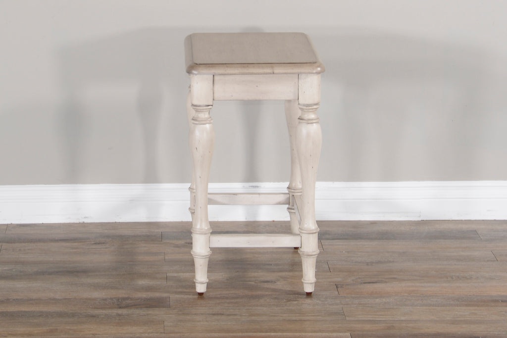 Westwood Village 24 Inch Stool Side View