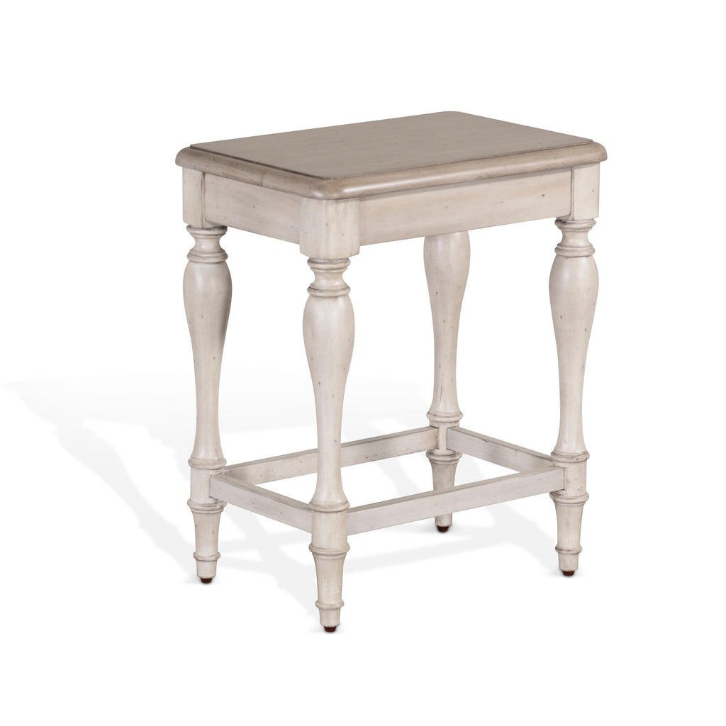 Westwood Village 24 Inch Stool Front View
