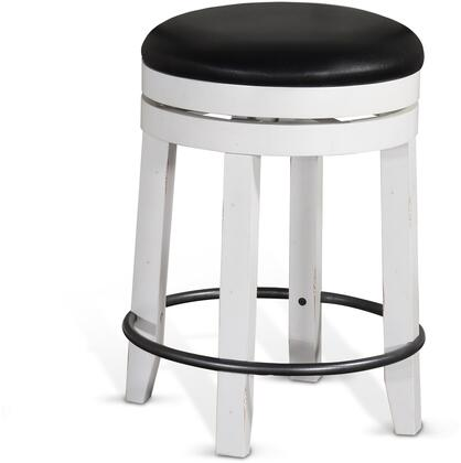 Carriage House Swivel Stool Clipped View
