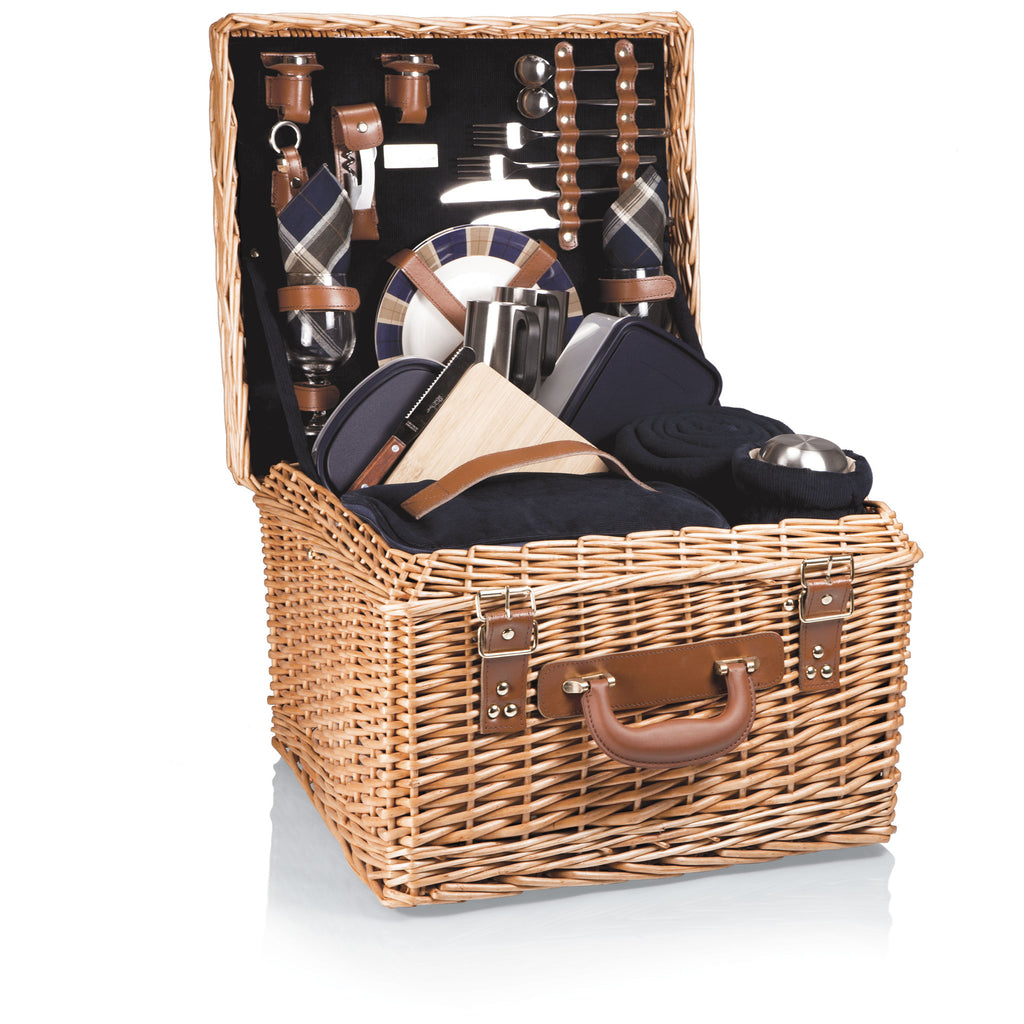 Picnic Time Canterbury Picnic Basket - Perfect Home Bars