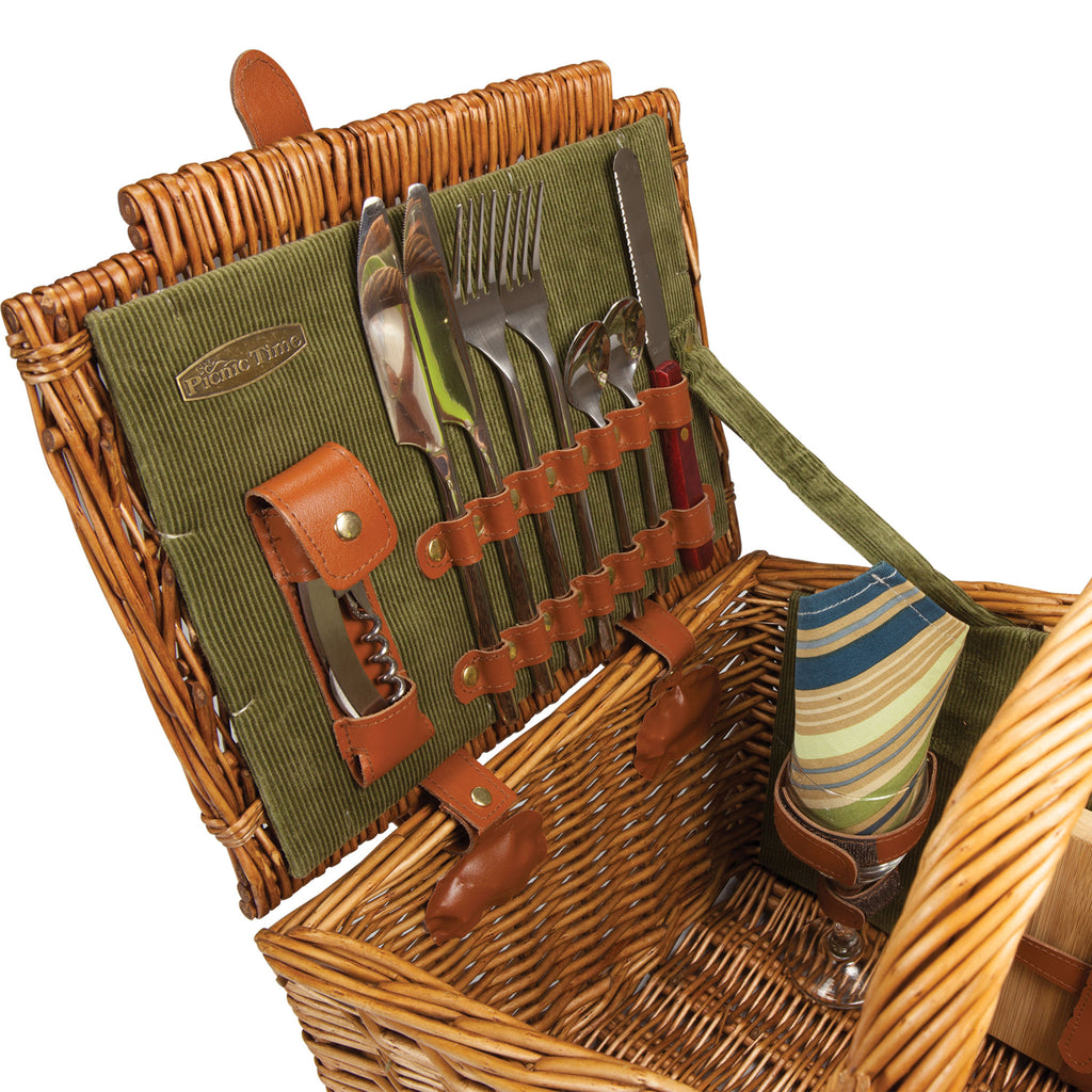 Somerset Picnic Basket Detail View