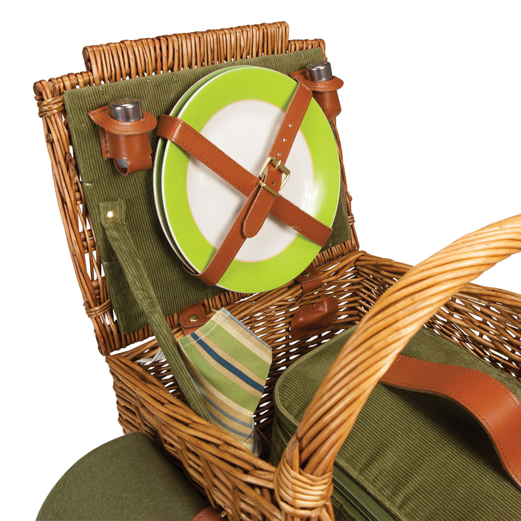 Somerset Picnic Basket Detail Interior View
