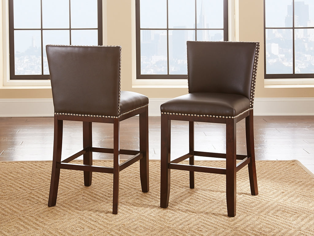 Steve Silver Tiffany Counter Chairs - Set of 2 - Perfect Home Bars