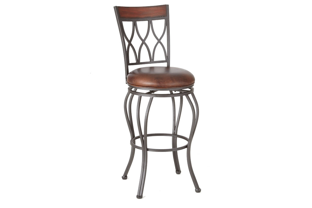 Steve Silver Wallen Swivel Barstool - Perfect Home Bars