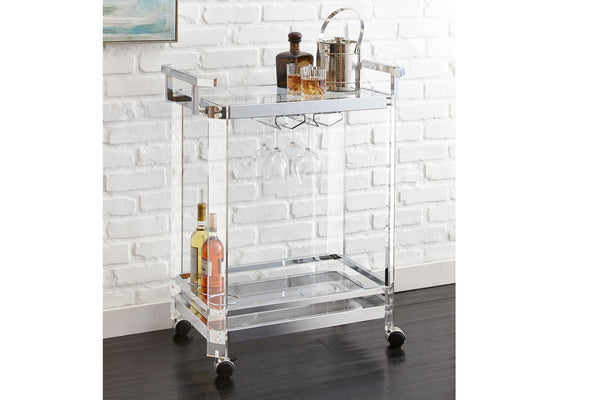 Steve Silver Aerin Server Cart - Perfect Home Bars