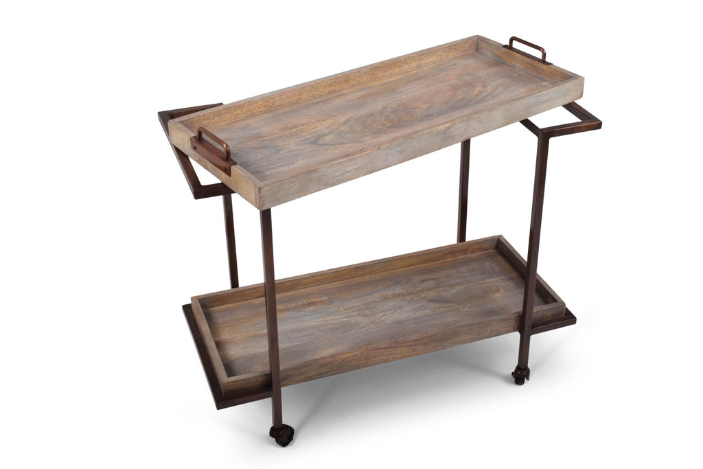 Steve Silver Conway Serving Cart - Perfect Home Bars
