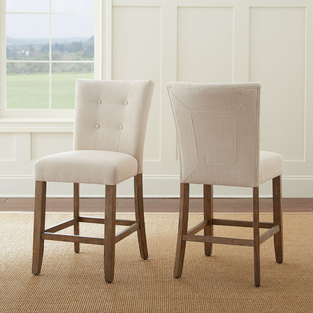 Steve Silver Debby Counter Chair - Set of 2 - Perfect Home Bars