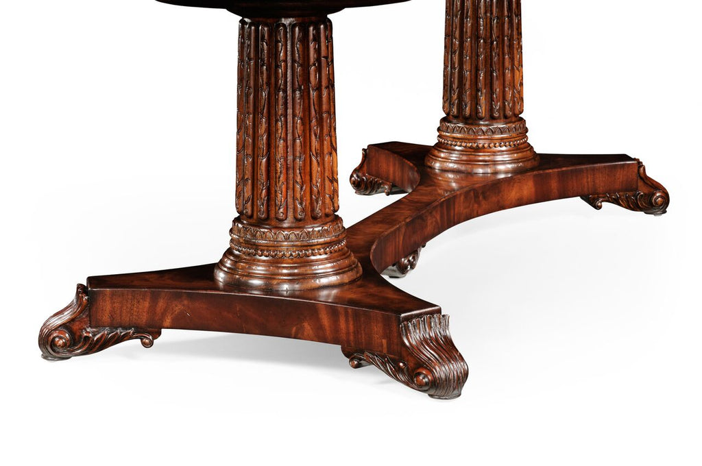 Jonathan Charles Mahogany Poker Table - Perfect Home Bars