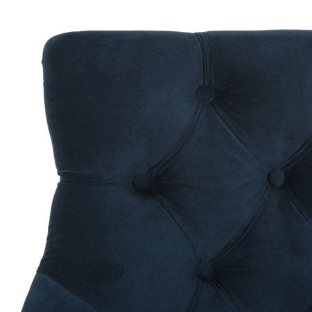 Eleni Tufted Wing Back Back Bar Stool Detail Cushion View