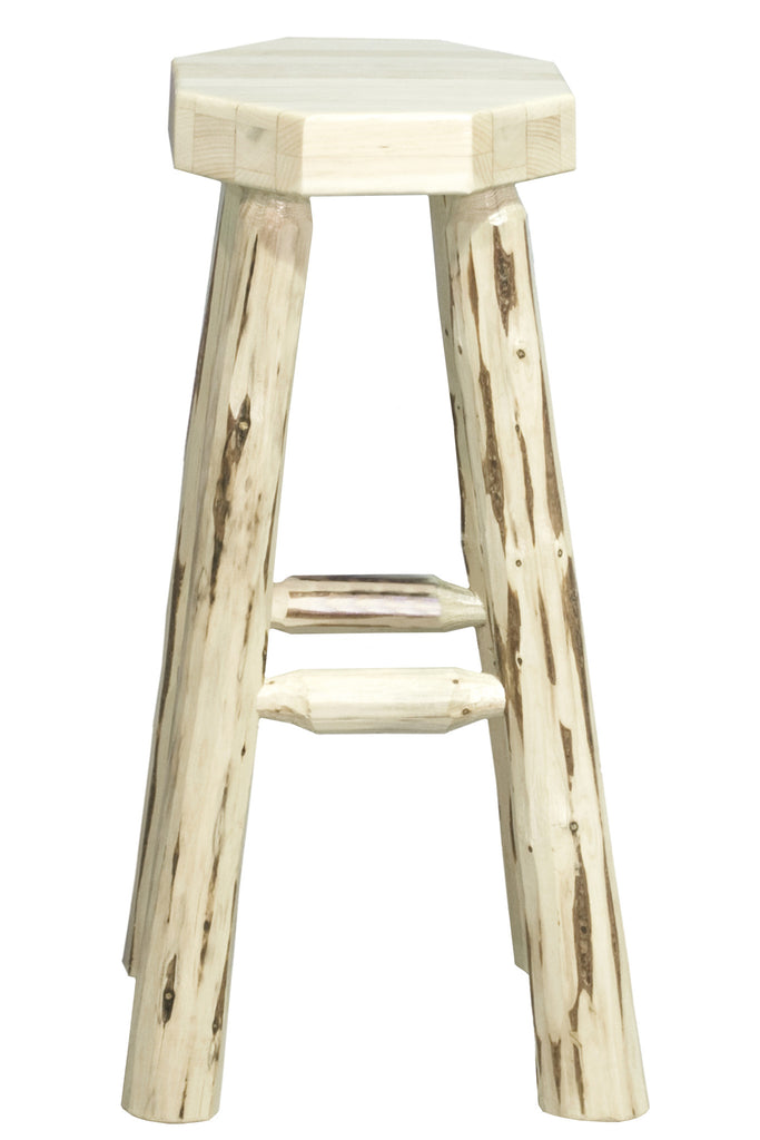 Montana Woodworks Collection  Backless Bar Stool - Perfect Home Bars