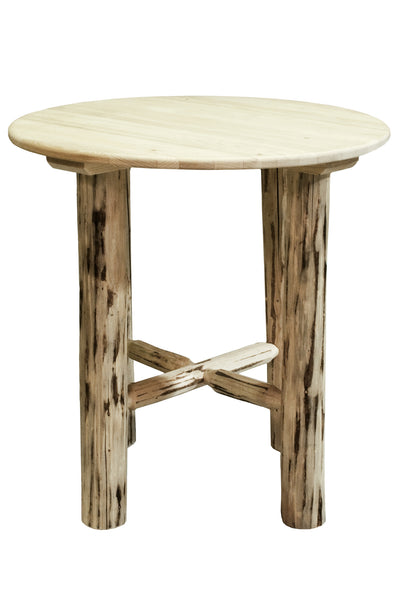 Montana Woodworks Collection Wood Bistro Table - Perfect Home Bars