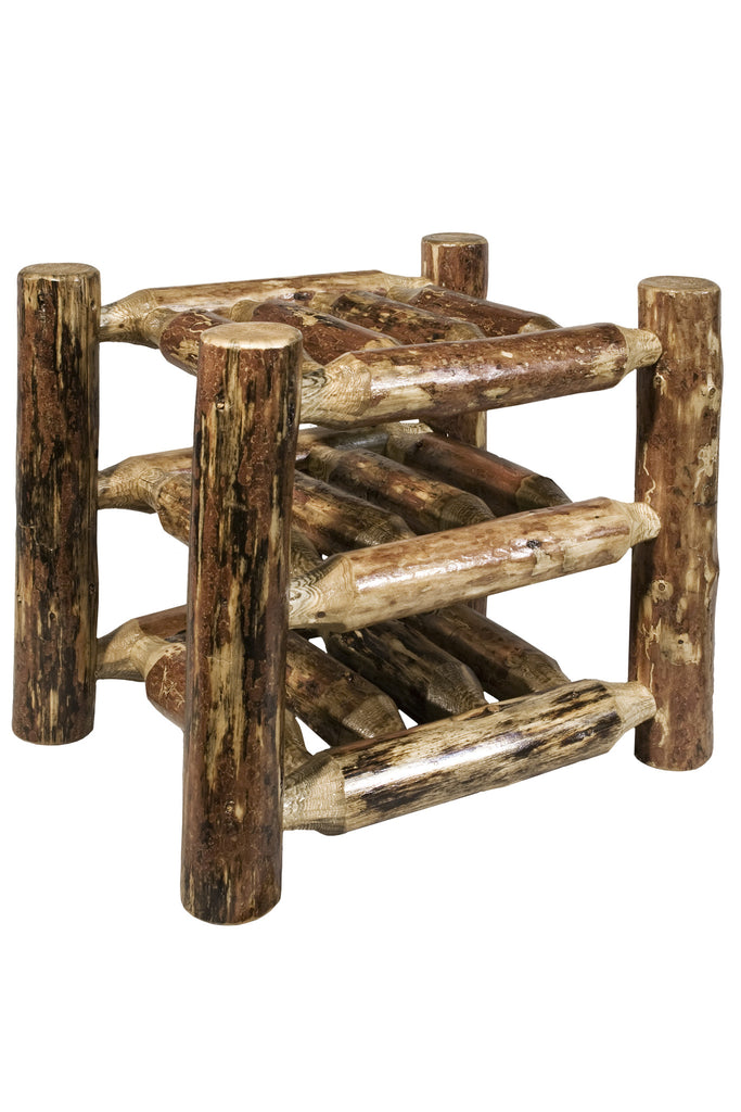 Montana Woodworks Glacier Country Collection Wood Countertop Wine Rack - Perfect Home Bars