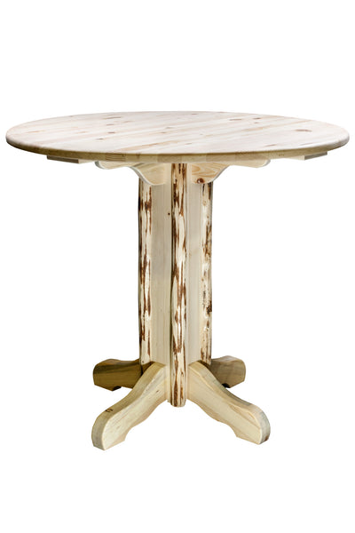 Montana Woodworks Collection Wood Pub Table