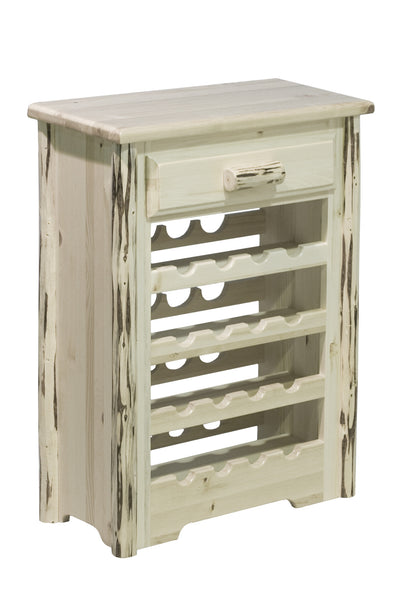 Montana Woodworks Collection Wine Cabinet - Perfect Home Bars