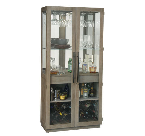 Howard Miller Chaperone Wine and Bar Cabinet Front View