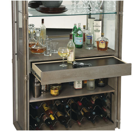 Howard Miller Chaperone Wine and Bar Cabinet