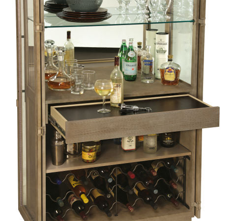 Howard Miller Chaperone II Wine and Bar Cabinet