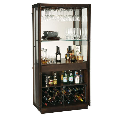 Howard Miller Chaperone III Wine and Bar Cabinet Front View