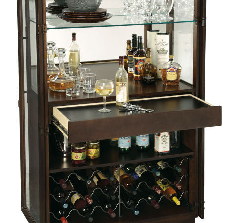 Howard Miller Chaperone III Wine and Bar Cabinet