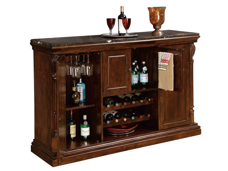 Howard Miller Niagara Console in Rustic Cherry