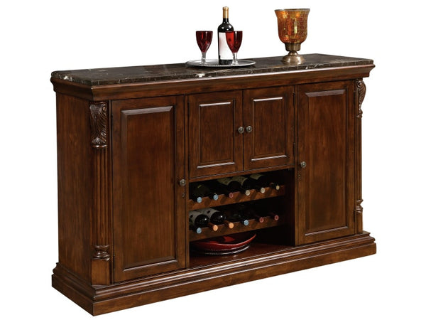 Howard Miller Niagara Console in Rustic Cherry - Perfect Home Bars