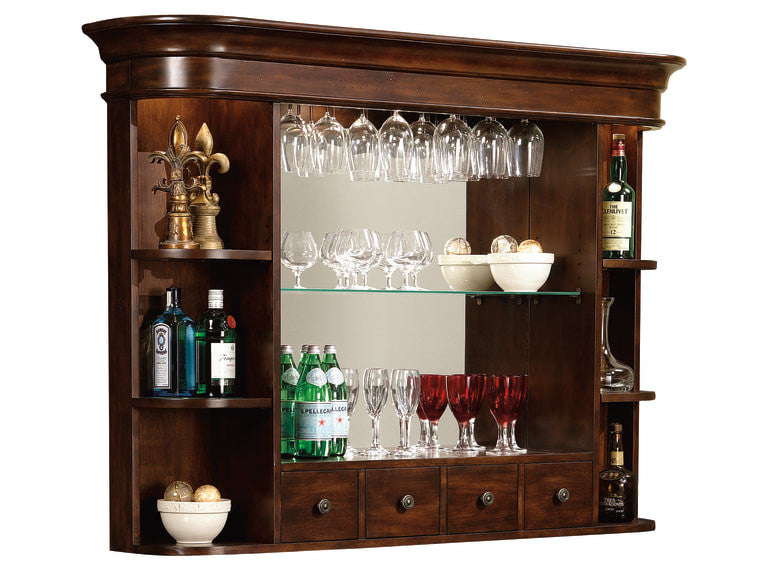 Howard Miller Niagara Back Bar Hutch - Perfect Home Bars