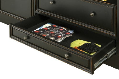 Howard Miller Northport Home Bar Bottom Drawer View
