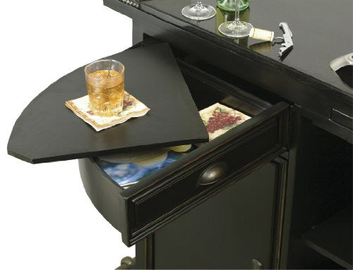 Howard Miller Northport Home Bar Second Prep Drawer View