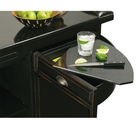 Howard Miller Northport Home Bar First Prep Drawer View