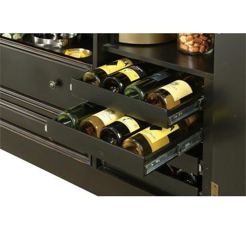 Howard Miller Northport Home Bar Wine Rack View