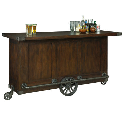 Howard Miller Beverage Trolley Bar Stationary View