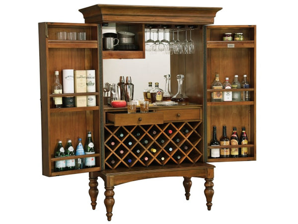 Howard Miller Toscana Wine Cabinet and Bar - Perfect Home Bars