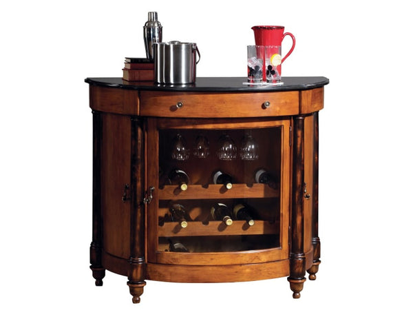 Howard Miller Merlot Valley Wine Cabinet and Bar - Perfect Home Bars
