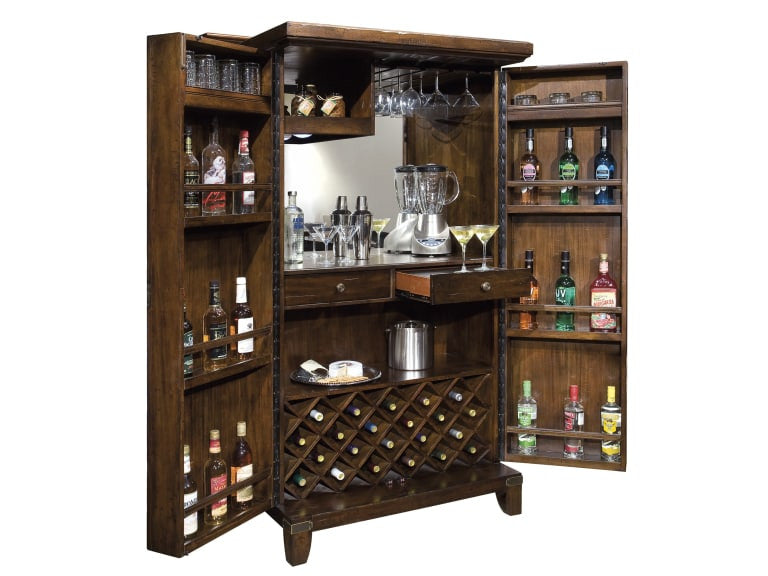 Howard Miller Rogue Valley Wine and Bar Cabinet