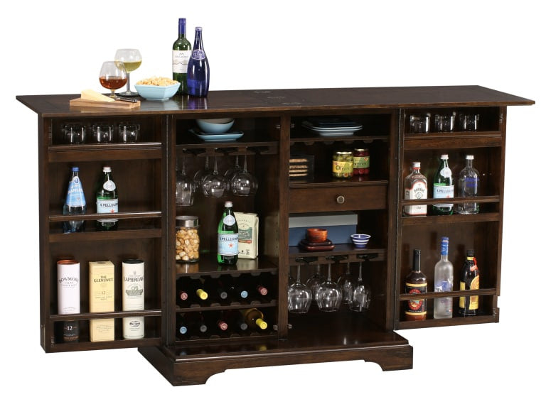 Howard Miller Benmore Valley Wine and Bar Cabinet - Perfect Home Bars