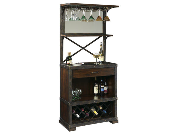Howard Miller Red Mountain Wine Cabinet - Perfect Home Bars